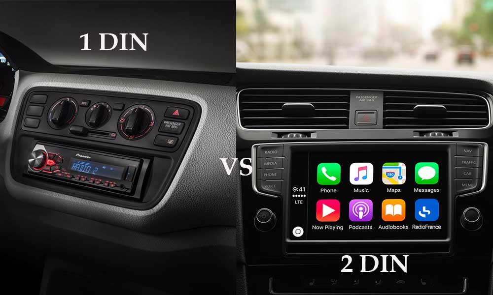 Autoradio GPS 1 DIN 2 DIN